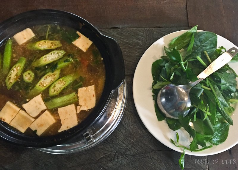 Vietnamese Vegetarian Food: Hot Pot with Veggies