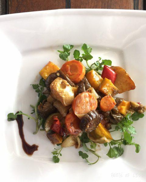 Vietnamese Vegetarian Food: Roasted Vegetables