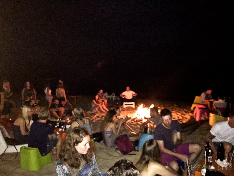 Bonfire on Long Beach, Phu Quoc
