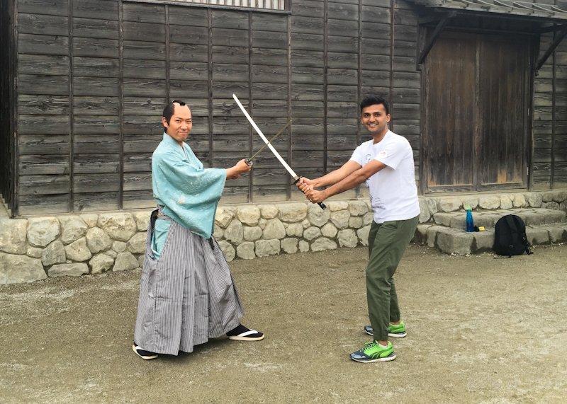 Now with an actual samurai!