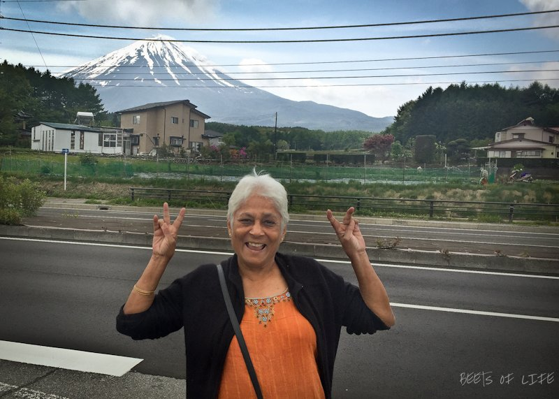 Mama Vora thrilled to see Mt Fujisan