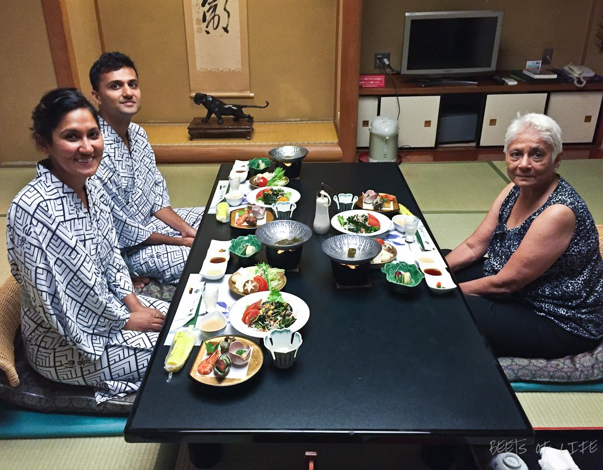 Staying at a Ryokan was a highlight of our travels