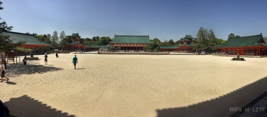 Panoramic view of the temple complex