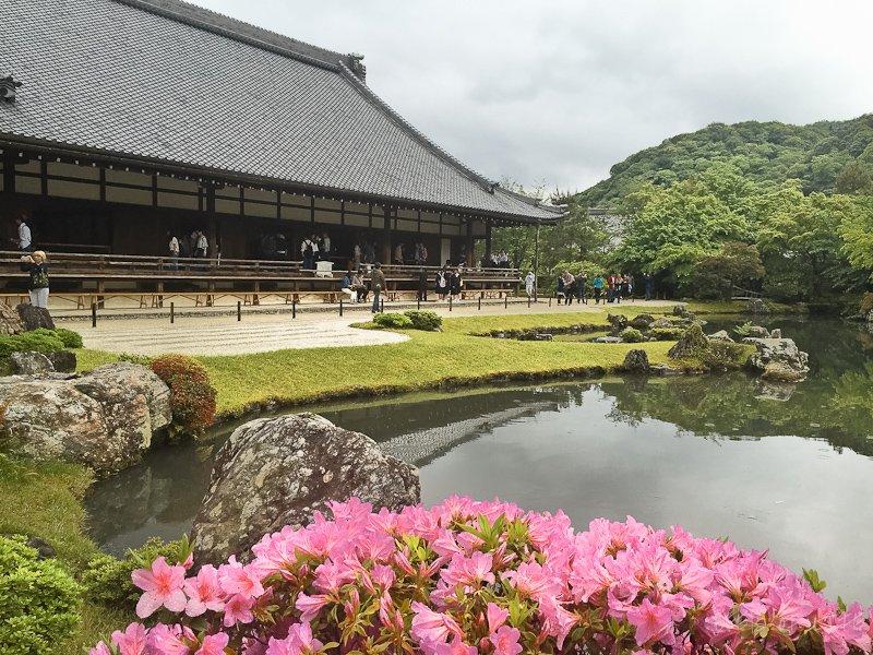 Beautiful temple complex
