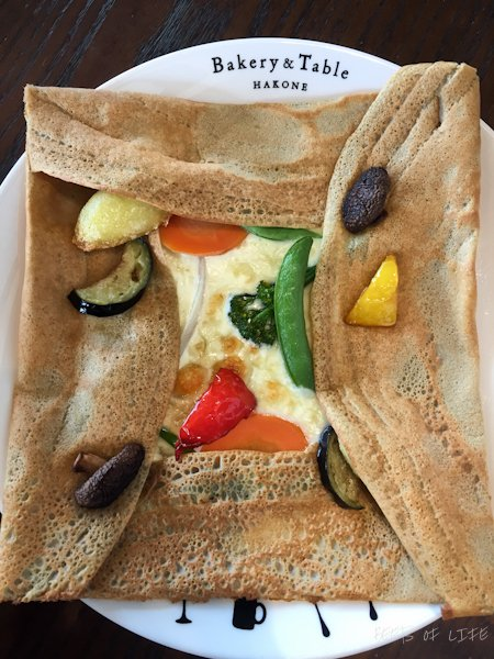 One of the most satiating veggie crepes!!